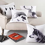 5003 porcupine pillow