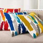 4855 paint stroke pillow