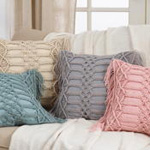 5379 macramé pillow