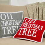 5411 oh christmas tree pillow