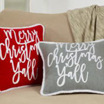 5412 merry christmas y'all pillow