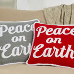 5414 peace on earth pillow