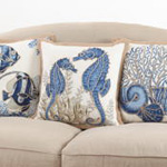 5436 seashell pillow