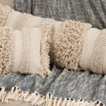 5812 fringe stripe pillow