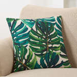 5985 split leaf philodendron pillow