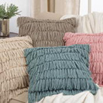 5990 woven fringes pillow