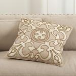 5992 embroidered and beaded design pillows