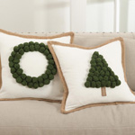 9017 christmas tree pillows