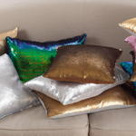 618 Sequin Mermaid Pillow