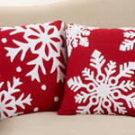 6311 snowflake pillow