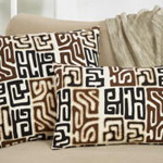 665P kuba cloth pillow