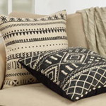 7270 mudcloth pattern pillow