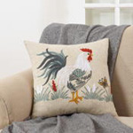 773 rooster pillow Closeout