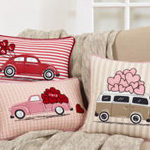 8003 love truck pillow