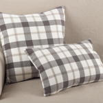 8050P plaid pillow
