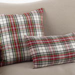 8051P plaid pillow