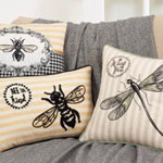 8077 bee pillow