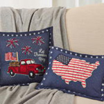 8184 let freedom ring pillow