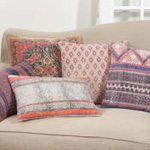 8413 bohemian hex pillow