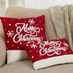 8806 merry christmas pillow