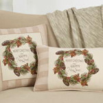 8810 merry christmas & happy new year pillow