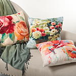 9068 the flower market pillow