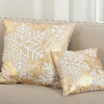 9382 snowflake design pillows