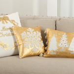 9387 merry christmas embroidered pillows