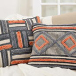 946 Printed + Embroidered Pillow