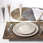 185 Beaded Design Placemat