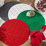 5108 cutwork felt placemat