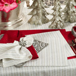 8574 stitched design napkins