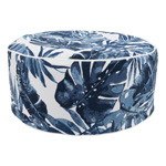 PU1931 Blue Tropic Outdoor Ottoman