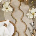 7411 Embroidered Vine Runner