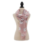 S7007 Floral Scarf