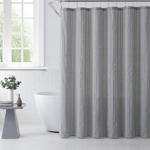 SC2136 Stitched Line Shower Curtain