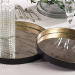 SE615 decorative serving tray