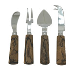 SP192 wooden cheese cutlery