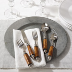 SP130 antique bone flatware
