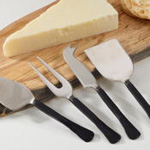 SP141 matte black cheese set