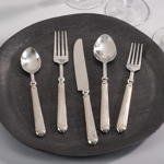 SP155 ribbed flatware