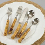 SP218 Bamboo Flatware