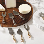 SP526 knotted cheese cutlery
