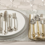 SP527 knotted design flatware