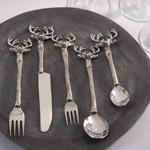 SP779 reindeer flatware