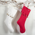 9020 jingle design stockings