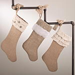 H5075 burlap stocking
