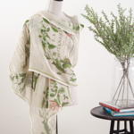 S229 floral scarf