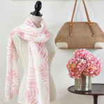S245 Palm Leaf Scarf