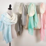 S444 ombre design scarf